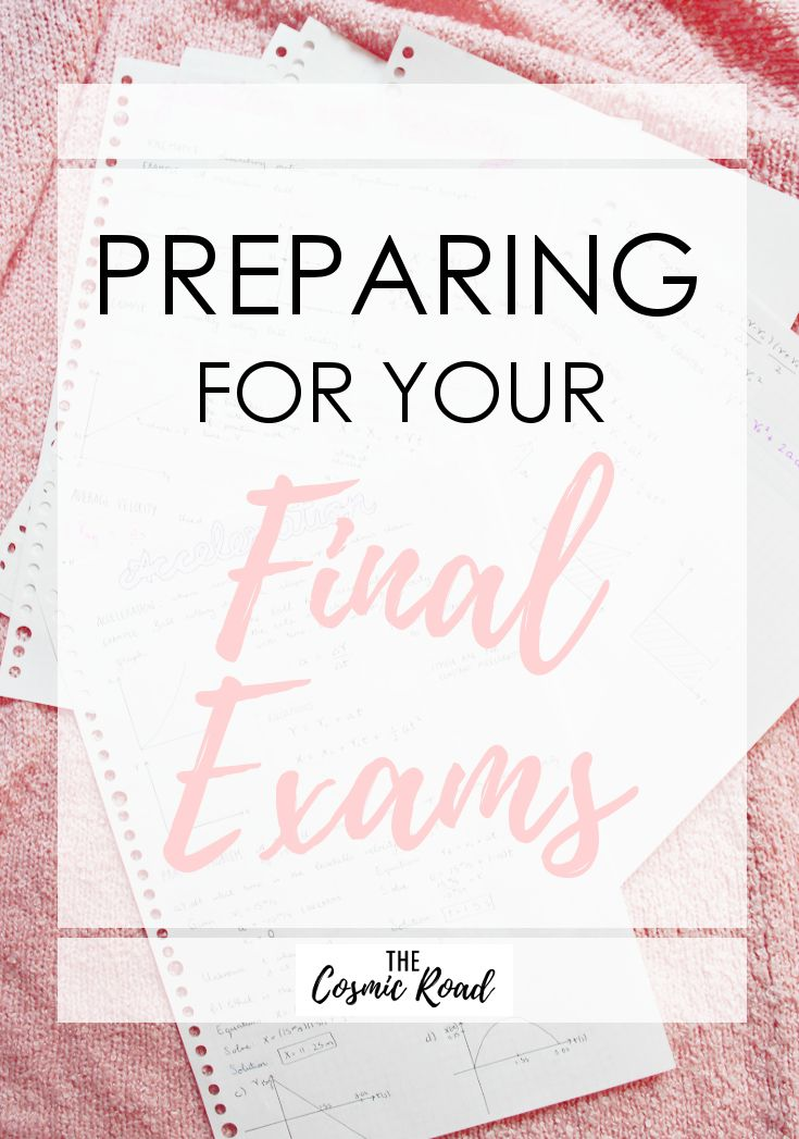 It's that time of the year again! Start preparing for your final exams by following these easy tips and tricks and avoid the stress of exam season.