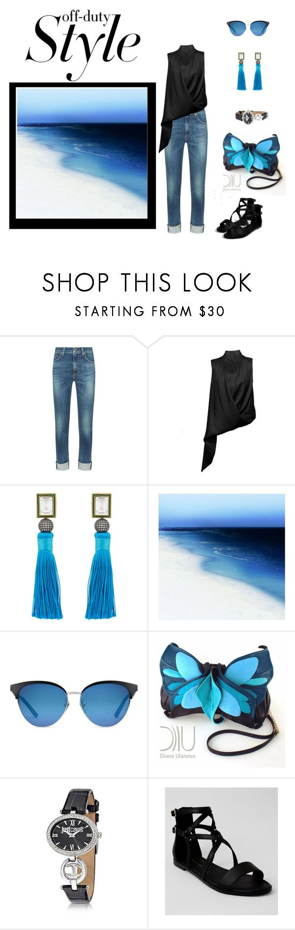 """Just Starting Out"" by jjsunnygirl ❤ liked on Polyvore featuring rag & bone, chikimiki, Blossom Box, Barclay Butera, Gucci, Just Cavalli and New Look"