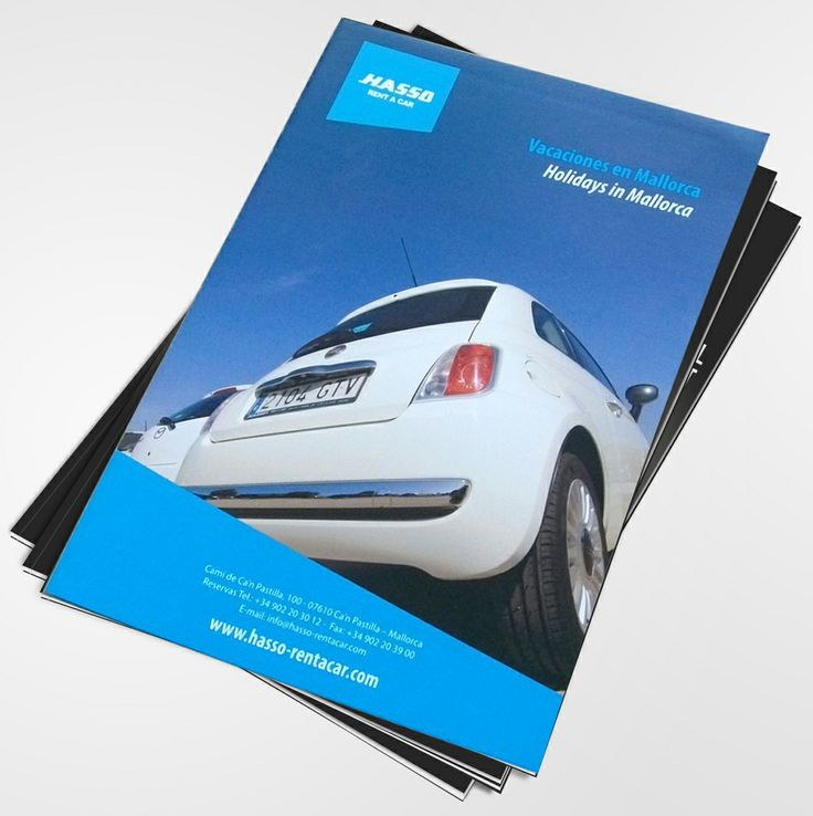 Hasso Car Renting catalogue.