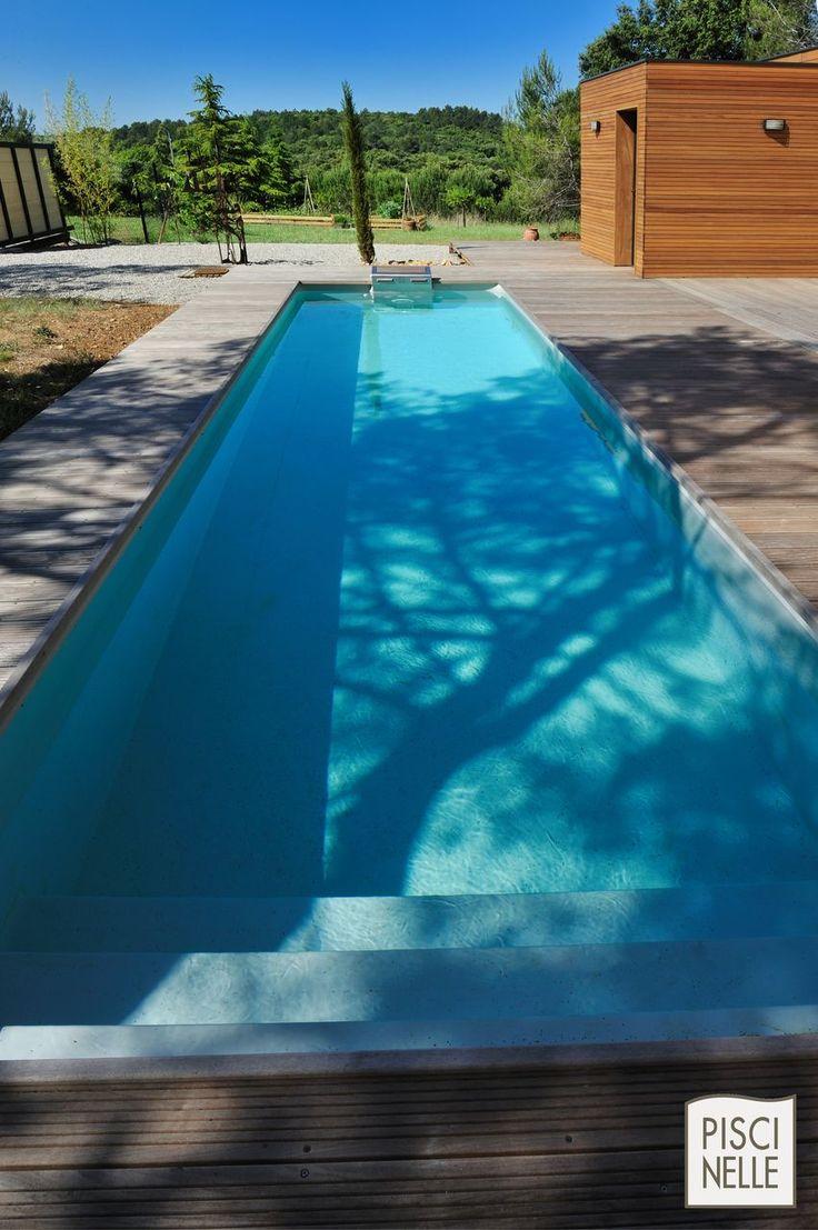 les 25 meilleures id es concernant piscine couloir de nage. Black Bedroom Furniture Sets. Home Design Ideas