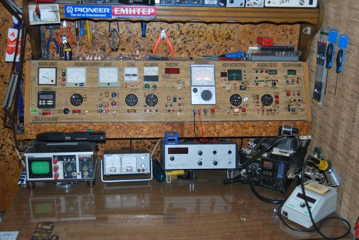 Very Nice Custom Test Gear Diy Electronic Workbench