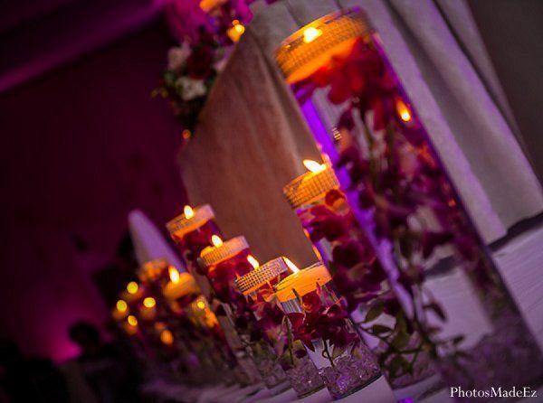 Indian Wedding Reception Floral Decor Maharaniweddings Gallery Photo