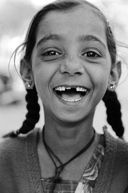 Young Girl in Rajasthan - Jaisalmer, Rajasthan
