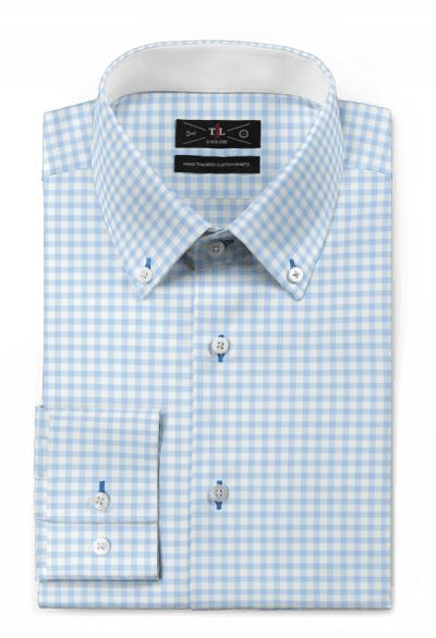 Blue checked 100% cotton Shirt: http://www.tailor4less.com/en-us/men/shirts/3120-blue-checked-100-cotton-shirt
