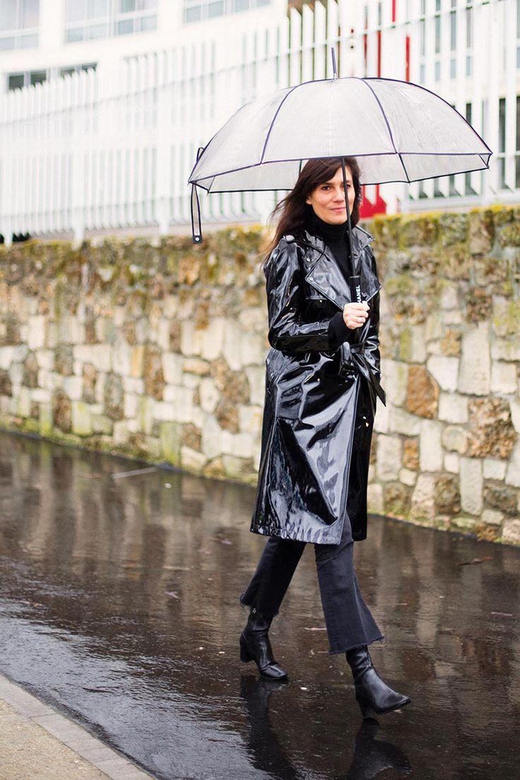 Under my umbrella: Emmanuelle Alt in Paris