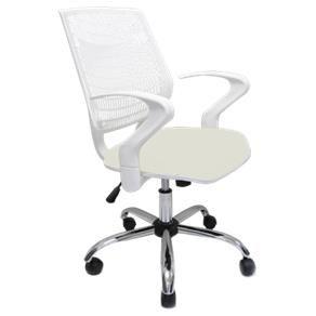 Cadeira Giratória Delli - Bege