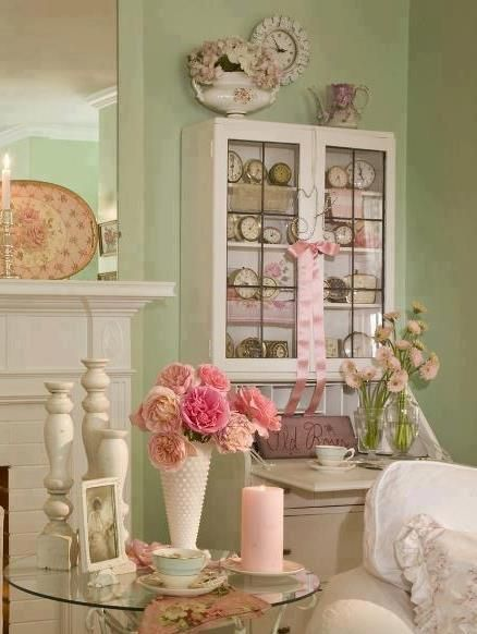 333 best shabby chic images on pinterest bedrooms home - Mesa shabby chic ...