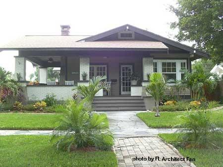 Craftsman style home plans, porch