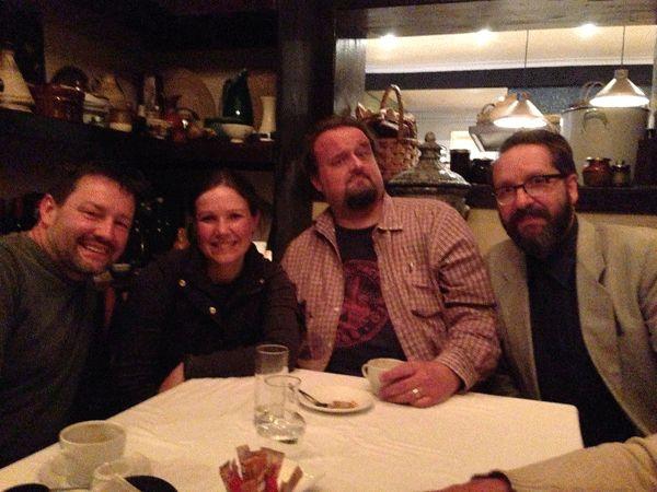 John & Michelle CURTIS, RICO and Alastair FINDLAY.