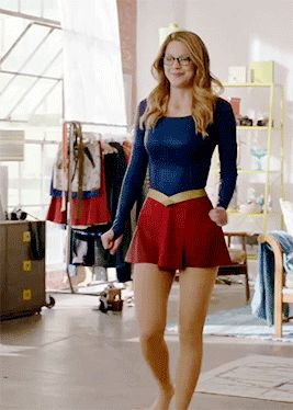 Melissa Benoist trying costume - Bing images