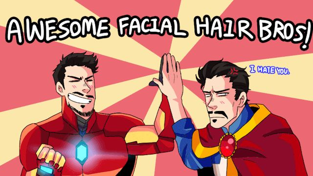 Tony Stark and Dr. Strange find common ground.