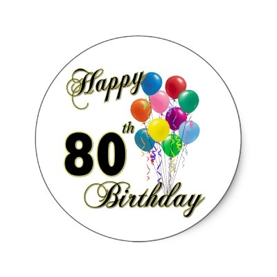 17 Best Images About 80th Birthday Party Ideas On