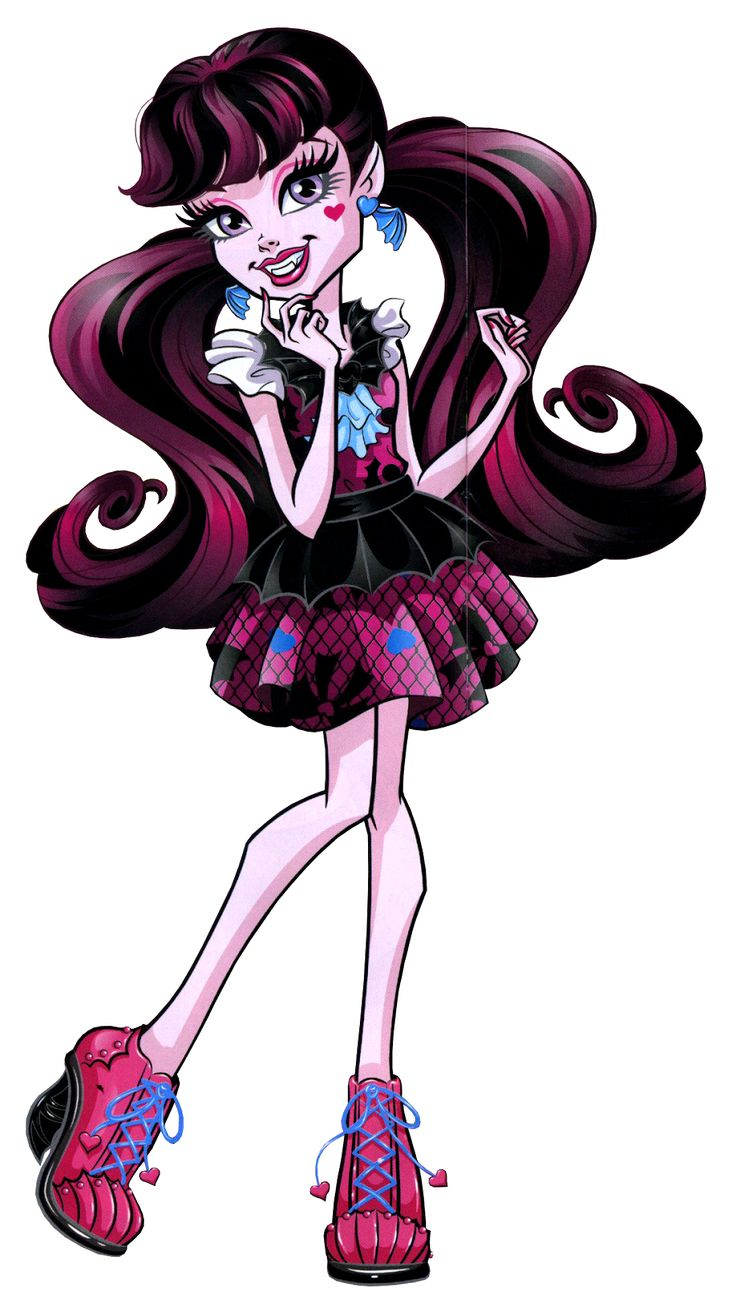 Draculaura how do you boo first day of school monster high monster high art monster high - Image monster high ...