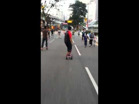 Airwheel M3 on the streets of KL
