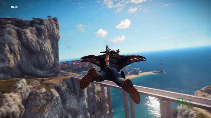 Just Cause 3 - Mit dem Wingsuit unterwegs http://www.pokipsie.ch/spiele/digital/playstation-4/just-cause-3/