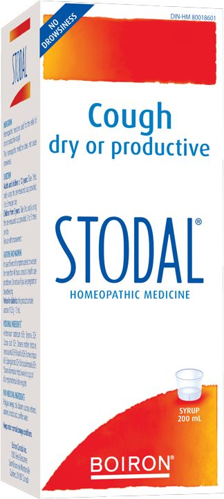 Stodal - Relieves Both Dry & Wet Coughs