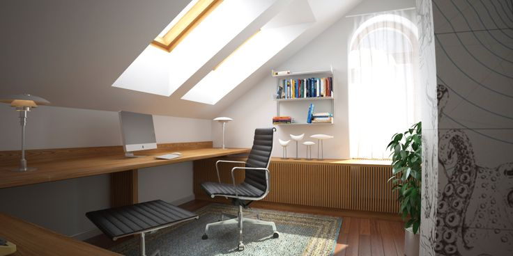 home office interior by cubica