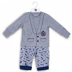 Комплект для мальчика (футболка длинный рукав и брюки)