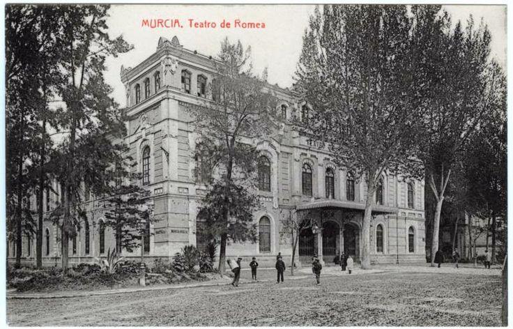 Visor Archivo General Región de Murcia. FOT_POS,03/088 / Teatro Romea. Murcia c. 1917