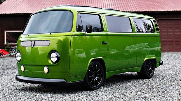 Esta Kombi 1972 é na verdade um Subaru WRX de 400 cv disfarçado