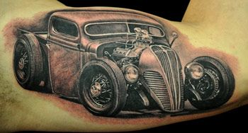 truck tatoos | hardtuned's look at automotive tattoos: Trucks