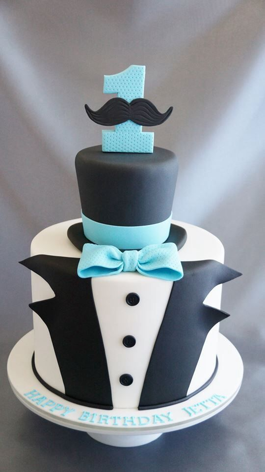Make the top hat removable and it be his smash cake