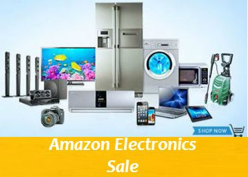 Buy Electronics With Upto 75% Off From #Amazon. Sale Is On Mobiles, Laptops, Tablets, Headphones, Power Banks, Hard Drives, Pen Drives, Memory Cards, Printers, Cartridges, WiFi Routers, Dongles, Desktops & Monitors, Keyboards & Mice, Computer Accessories and Bluetooth & Wired Headsets.