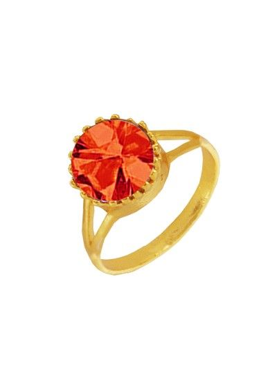 MENJEWELL ELEGANT CLASSIC & DESIGNER NEW COLLECTION GOLD::RED BRILLIANT CUT ROUND SIMULATED STONE STUDDED DESIGN RING silver ringsfor menswith price,mens ringdesigns in gold,silver ringsfor menswith price in india,ring forboyfriend,ringsforboys,silverringprice list,24 carat goldring forman,menssilverringdesigns,menjewell.com