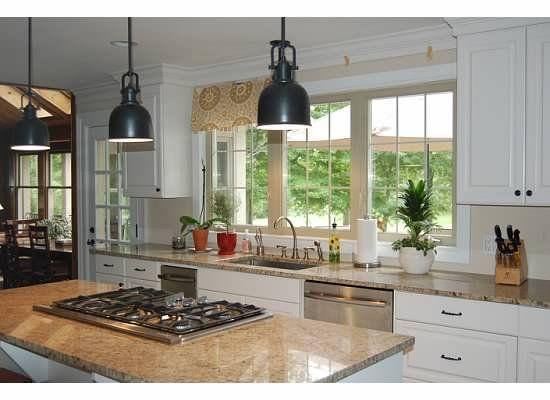 almond windows with white trim | house has almond vinyl windows and I painted the trim white - BM White ...