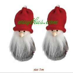 Christmas Santa And Angel Dolls