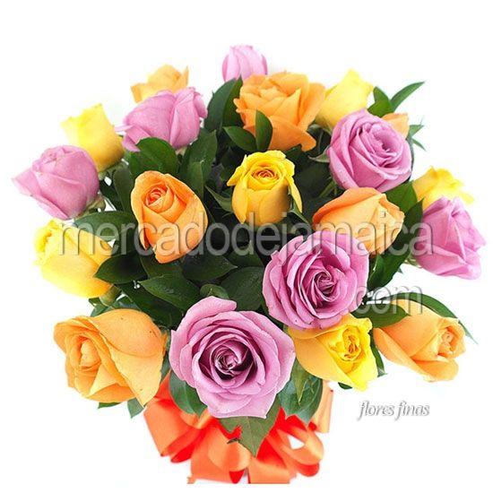 Floreria Mexico Rosas Moradas Adamaris !| Envia Flores