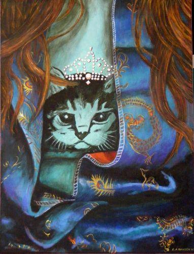 Esther Hansen, Untitled, 2010, acrylic on canvas