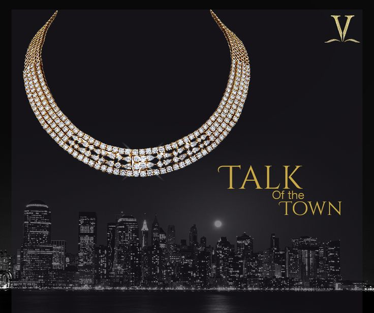 You are sure to be the envy of all and sundry with this lovely and charming diamond necklace. #TalkOfTheTown