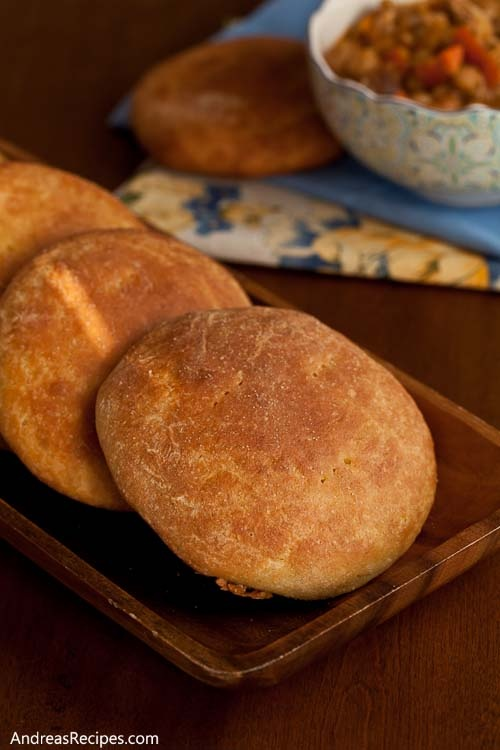 Marrakech Tangine Bread from Andrea Meyers' making life delicious blog.