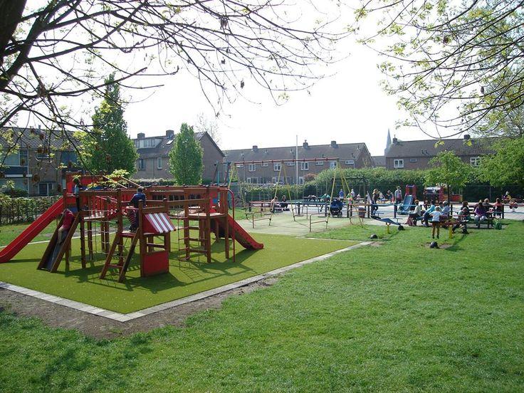 Wspólnotowy plac zabaw w Holandii