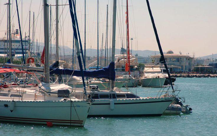 Patras Marina in Greece