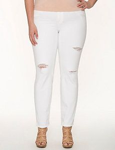 1000  images about Trend We Love: White Jeans on Pinterest ...