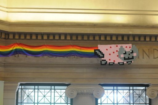 Nyan Cat in Lobby 7
