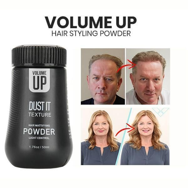 Volume Up Hair Styling Powder Hair Powder Hair Styles Thin Flat Hair