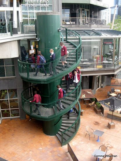 Best Spiral Stairs By The Yarra River Melbourne With Images 400 x 300