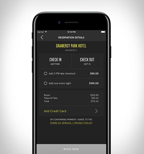 OApp One Nighté um novo aplicativo que permite fazer reservas para o mesmo dia, a uma taxa reduzida em alguns dos melhores hotéis de luxo, e boutiques em Nova York e Los Angeles. Se você gosta de encontrar um lugar para fic