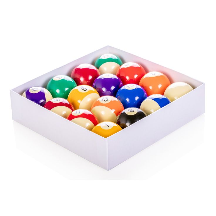 mizerak regulation size deluxe billiard ball set p1819