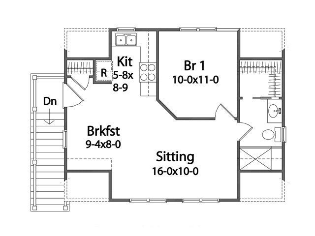 14 best mother in law suites images on pinterest in law for Guest apartment floor plans