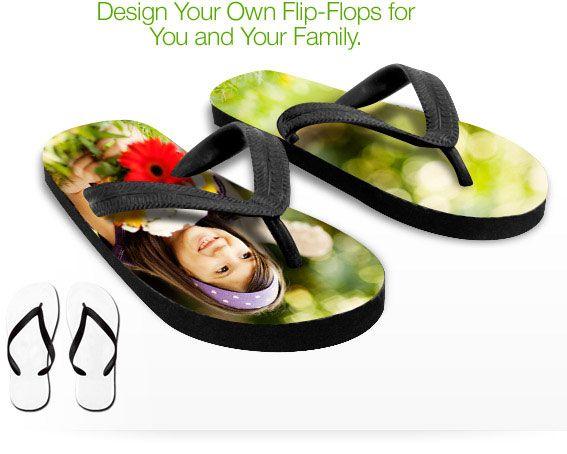 Decorate Your Own Flip Flops | Flip Flops