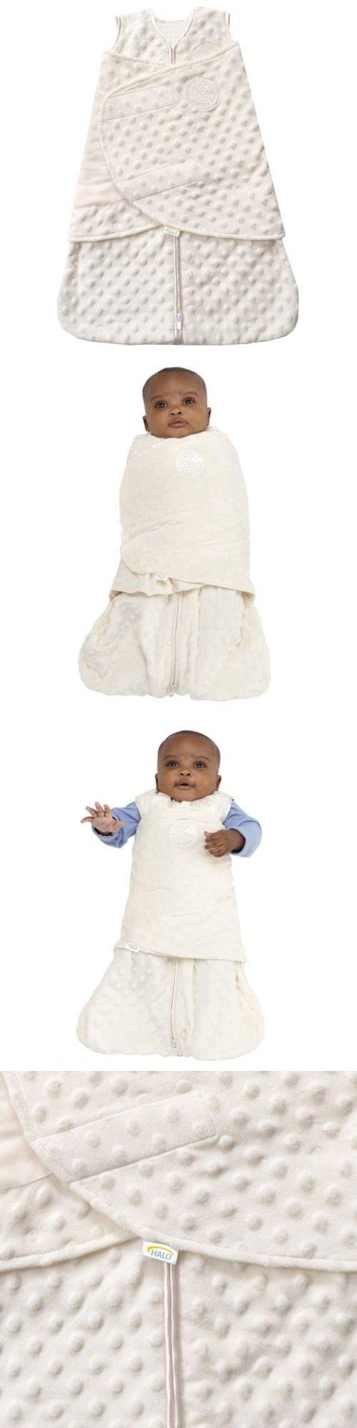 One-Pieces 163425: Halo Sleepsack Plush Dot Velboa Swaddle, Cream, Newborn , New, Free Shipping -> BUY IT NOW ONLY: $33.65 on eBay!