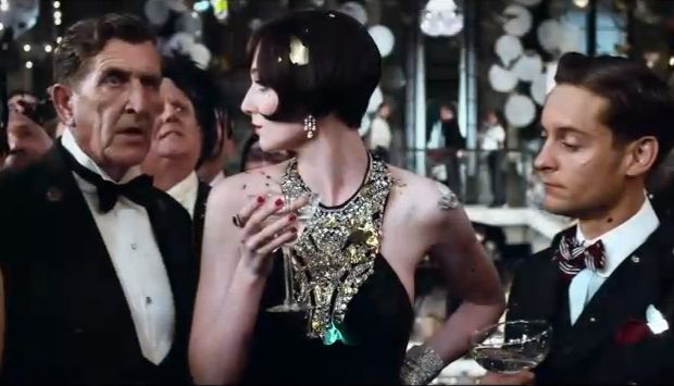 what's old is new again: costume collab: Miuccia Prada + The Great Gatsby