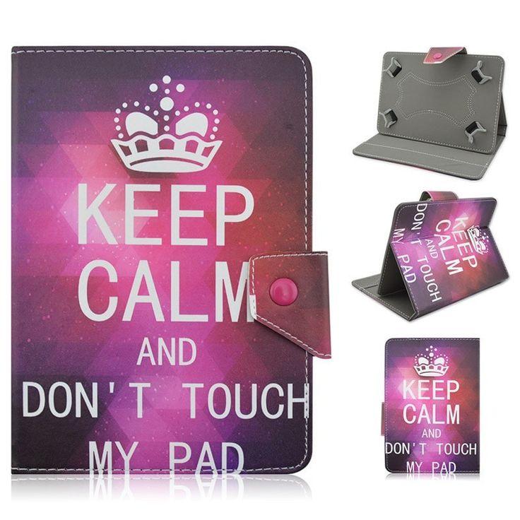 "Designer Print Pattern Universal Flip PU Leather Adjustable Stand Tablet Case Cover for 7"" Tablet 11 Styles"