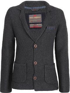Вязаный пиджак мужской