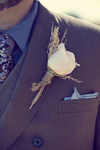 Love the grooms ensemble