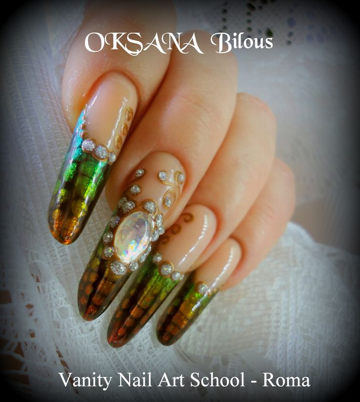 ....tutto con OksyGel e colori acrilici per foil...